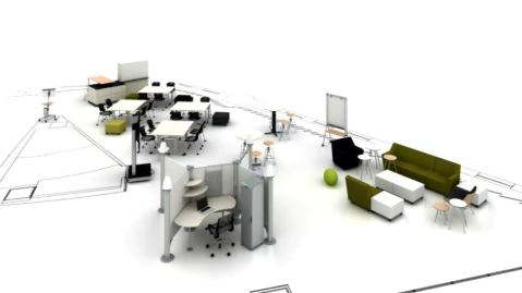 Flexible and Adaptable Herman Miller Classroom