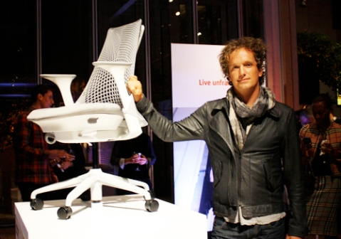 Yves Behar and the SAYL Chair