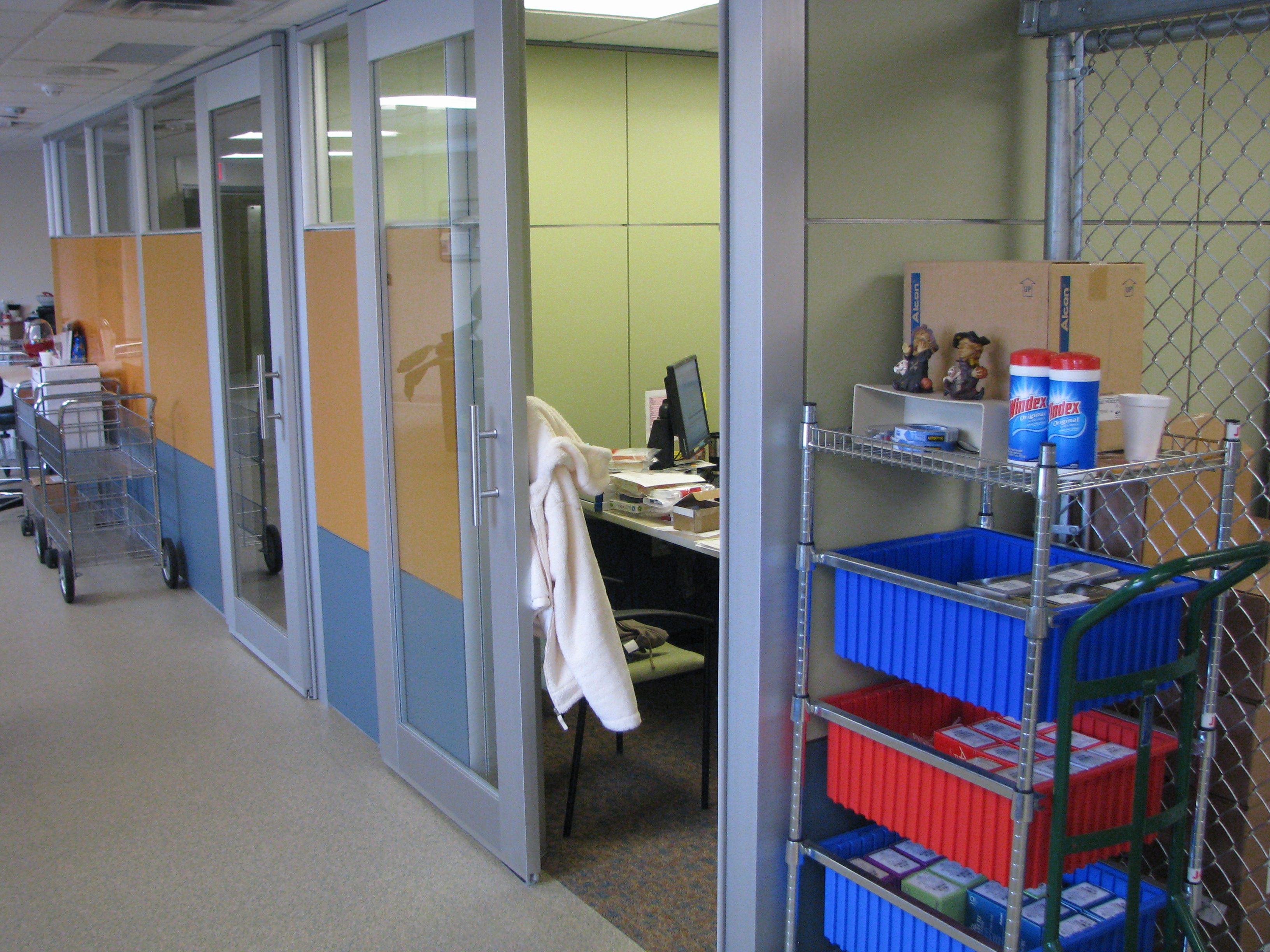 Dirtt ordinary to extraordinary dirtt solution security room and offices vtopaller Gallery