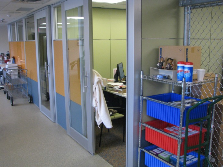 DIRTT Solution - Security Room and Offices