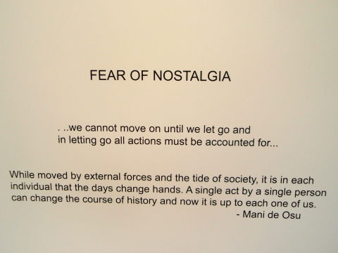 Fear of Nostalgia - Photograph
