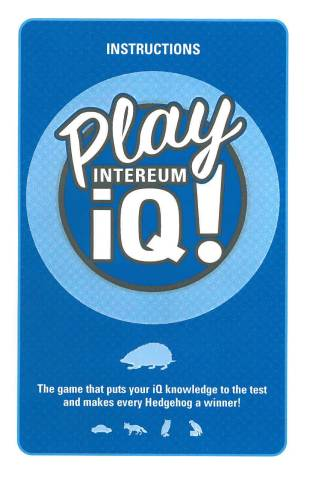 IQ Game Brochure