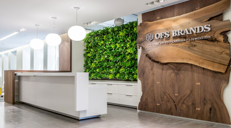 OFS Reception area